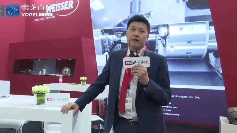 CIMT2019-万氏(上海)机床有限公司总经理马冠男先生