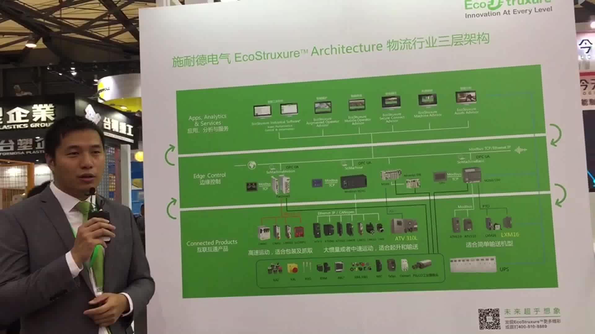 【施耐德展台介绍】施耐德电气(中国)有限公司上海分公司 傅轶敏先生